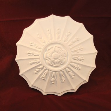 art deco plaster ceiling rose