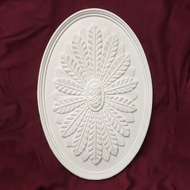 450mm Oval Leaf Ceiling Rose